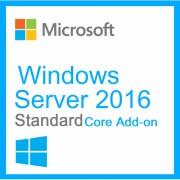 Microsoft Windows Server Standard 2016 - Core Add-on 4 Noyaux / 4 Coeurs