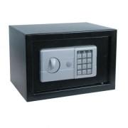 Seif electronic si cheie,200 x 310 x 200 mm,negru, Planet Safe PS/20.KEL