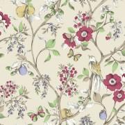 Tapet Floral Damsen Crem - Holden