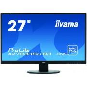 "iiyama ProLite X2783HSU-B3 27"" Full HD A-MVA Matt Black computer monitor"