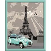 Раскрашивание по номерам «Париж»
