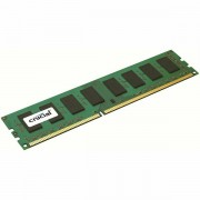 Crucial RAM 4GB DDR3L 1600 MT/s (PC3L-12800) CL11 Unbuffered UDIMM 240pin 1.35V/1.5V Single Ranked CT51264BD160BJ