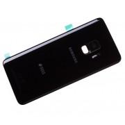 Tampa de bateria preta para Samsung Galaxy S9 G960