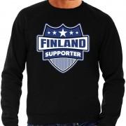 Bellatio Decorations Finland schild supporter sweater zwart voor he