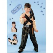 Costume Rambo tg. 9/10