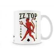 ZZ-Top - Tonnage Tout Baseball Coffee Mug, Coffee Mug