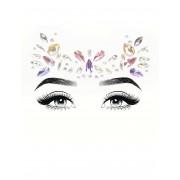 Deguisetoi Bijoux pour visage adhésifs pastels