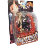 Star Wars Episode III Year 2005 Revenge of the Sith Unleashed Series 6 Inch Tall Action Figure - Anakin Skywalker with B