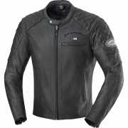 IXS Motorradjacke Motorradschutzjacke IXS Eliott Herren Lederjacke schwarz 56 schwarz