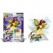 Ty crayola color alive album da colorare foresta incantata