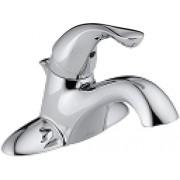 DELTA FAUCET Delta 520-MPU-DST Classic Single Handle Centerset Lavatory Faucet, Chrome