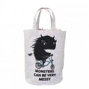 Bloomingville Úložný textilní pytel Monster