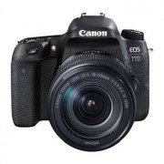 Canon EOS 77D hus + EF-S 18-135/3,5-5,6 IS USM