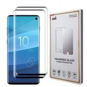 Protetor de Ecrã Saii 3D Premium para Samsung Galaxy S10 - 2 Unidades