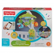 Móvil Proyector 2 En 1 Smart Connect Amigos De La Naturaleza CMK04 Fisher Price