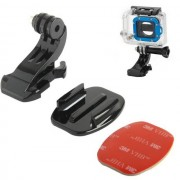 Maxy Supporto Adesivo Auto Per Gopro Hd Hero - Nilox - Action Cam Black