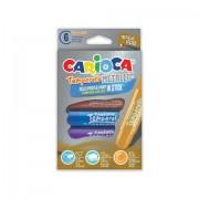 Set tempera metallic stick-Carioca