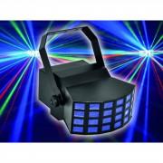 EuroLite LED D-400 Efecto de iluminación RGBAW Derby con 5 x 3-W-LED