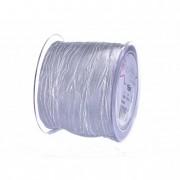 Szalag textil 75mmx15m világos ezüst Samba