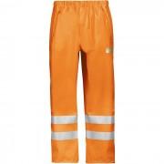 Snickers 8243 Varselregnbyxa orange Strl XL