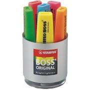 Stabilo Evidenziatore BOSS. Cilindro con 6 colori