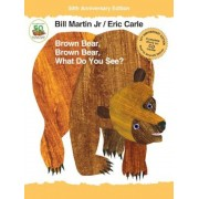Brown Bear, Brown Bear, What Do You See? [With Audio CD], Hardcover