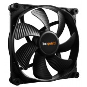Ventilator be quiet! Silent Wings 3, 140 mm (Negru)