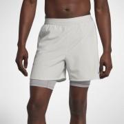 Nike Flex Stride 2-in-1 Herren-Laufshorts (ca. 12,5 cm) - Grau