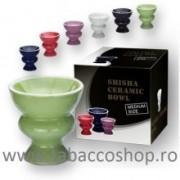 Creuzet narghilea din ceramica medium