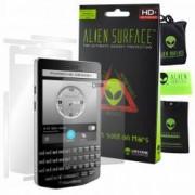 Folie Alien Surface HD BlackBerry Porsche Design P9983 protectie ecran spate laterale + Alien Fiber Cadou