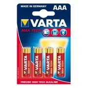 Varta Batteri Max Tech Lr03 Aaa Varta
