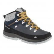 Quechua Chaussures de randonnée neige homme SH500 x-warm mid bleues. - Quechua