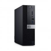 Desktop, DELL Optiplex 5070 SFF /Intel i7-9700 (4.8G)/ 8GB RAM/ 256GB SSD/ Win10 Pro + подарък KBD&Mouse (N015O5070SFF)