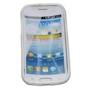 Силиконов гръб ТПУ за Samsung S7572 Galaxy Trend II Duos Бял