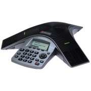 Polycom SoundStation Duo dual-mode conference phone including Power Supply, Power Cord with CEE 7/7 plug, Power Injection Module (PIM) with 6.4m combined PSTN/Cat5 cable, 2.1m RJ-11 PSTN cable, 2.1m C