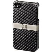 "Hama ""Stand"" Mobiele telefoon , Cover, Apple iPhone 4/4S, Zwart"
