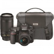 Nikon D7500 Two Lens Kit- Includes 18-55mm and 70-300mm Lenses and a Nikon Bag