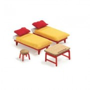 Djeco - The Children's Room - TU - Yellow/Red/Wood