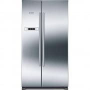 Bosch KAN90VI20G American Fridge Freezer - Stainless Steel