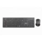 SET TASTATURA + MOUSE WIRELESS GEMBIRD, BLACK KBS-WCH-01