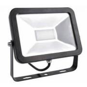 Proiector LED exterior 6400K 960 lumeni 10W IP65 lumina alb rece carcasa neagra