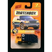 Refuse Truck Big Movers Series 2 Matchbox 1998 Basic Die Cast Vehicle (#7 Of 75)