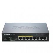 Суич D-Link (DGS-1008P), 8 port 1000Mbps,