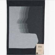 Styleica Handduk sha-dows 35x50 cm, svart/grå
