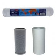 AQUAPRO Kit Filtres Osmoseur 4 Niveaux - 5 Pouces