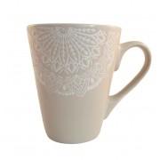 Cana MANDALA culoare Gri 300 ml Ceramica