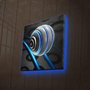 Tablou pe panza iluminat Ledda, 254LED4202, 28 x 28 cm, panza