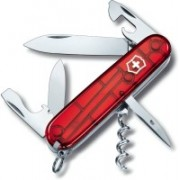 Victorinox SPARTAN TRANSLUCENT RED Swiss Army Knife(Red)