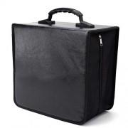 ELECTROPRIME 520+80 Disc CD DVD Carry Case Sleeve Holder Bag Wallet Storage Binder Box