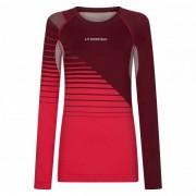 La Sportiva - Women's Tune Long Sleeve - T-shirt technique taille S, rose/rouge/violet